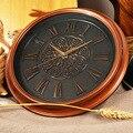 Римские Цифровые кварцевые бесшумные часы  традиционные классические настенные часы в стиле ретро  украшение для дома  для гостиной  кабине...