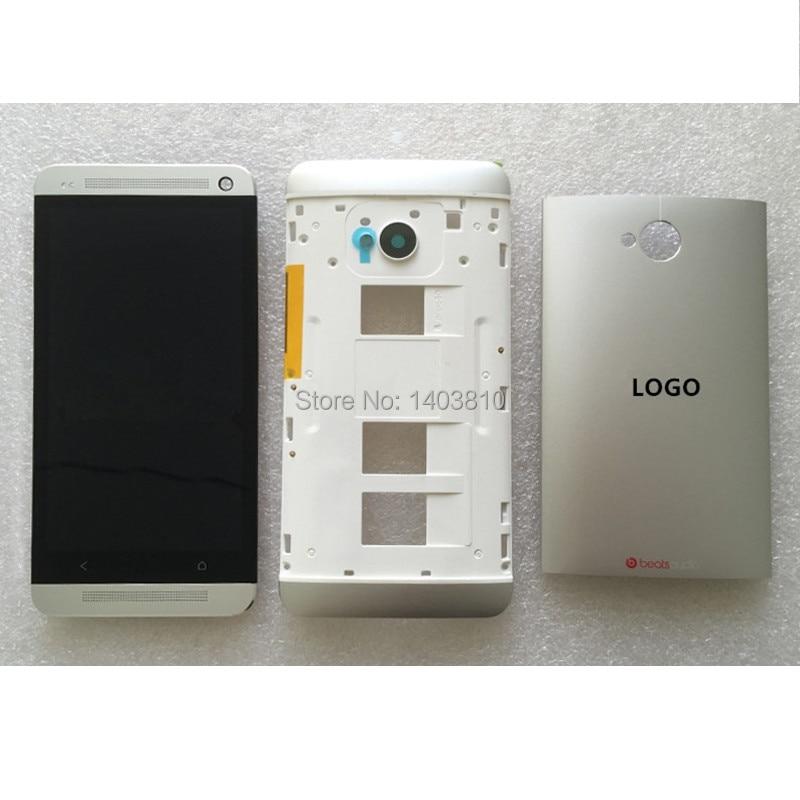 Original Silver for HTC One M7 Dual Sim 802t 802d 802w LCD ...