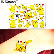 M-Theory Monster Makeup Temporary 3d Fake Tattoos Sticker Henna Tatouage Tatto Body Art Tatuagem Flash Tattoos Nail Arts Sticker