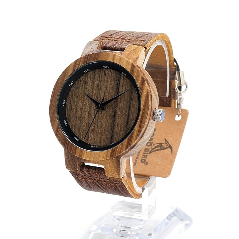 BOBO BIRD D22 Mens Luxury Bamboo font b Wooden b font font b Watches b font