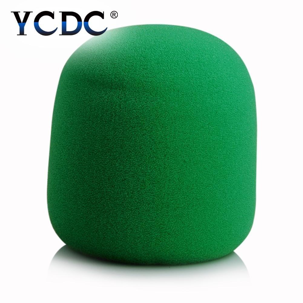 YCDC Handheld Stage wireless microphone Windscreen Foam Mic Cover Karaoke DJ Sales Green EN9990