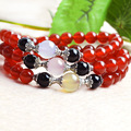 8mm UNIQUE 100% NATURALRed Agate  BRACELET MEN WOMEN, COOL WINE RED BEAD BRACELETS,BRACLETS FOR WOMEN BRACLET MEN JEWELRY