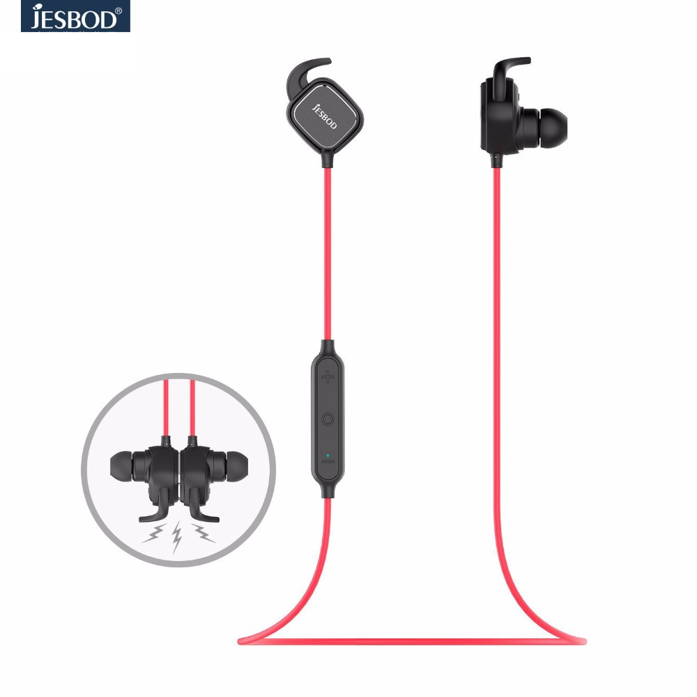 JESOBD QCY QY12 magnet switch adsorption earphones sport wireless bluetooth 4 1 headphones aptx hifi headset