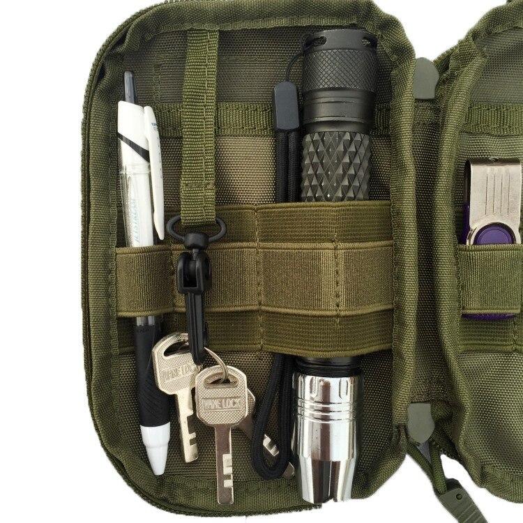 Mäns resebälte Pocket Organizer EDC MOLLE Militära Waist Packs - Bälten väskor - Foto 6