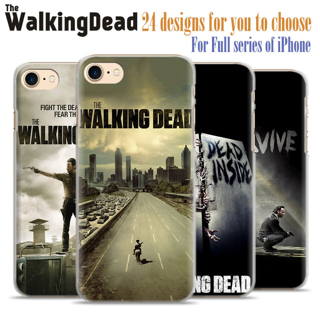 The Walking Dead Hard Plastic Case for Apple iPhone