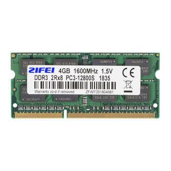 ZIFEI DDR3 RAM 4GB 8GB 1333MHz 1600MHz 1866MHz 1.5V&1.35V Laptop Memory so dimm