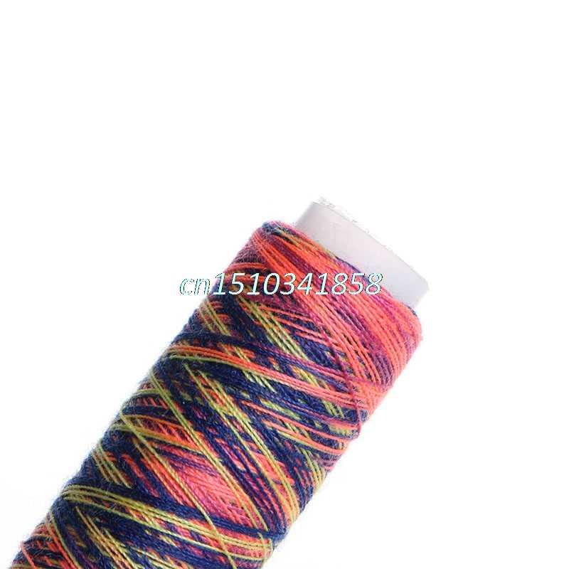 JAVRICK 5 Máy May Đường Chỉ May Overlocking Dây Polyester Nhiều Màu Sắc Dây Trang Sức Phụ Kiện Đa năng