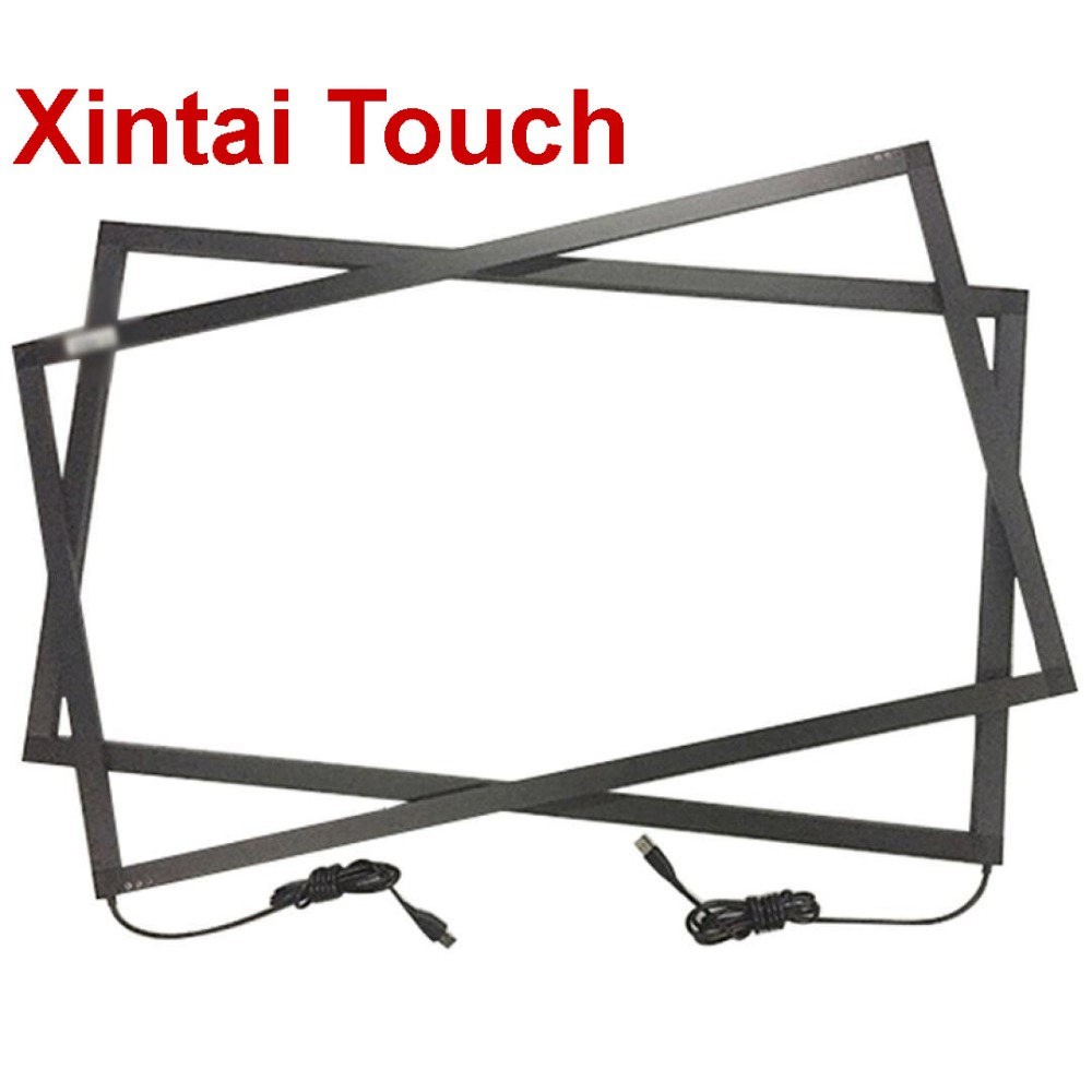 Xintai Touch 39 Inch Infrared Touch Screen 10 Points Touch Panel Ir Touch Frame Without Glass, Plug And Play