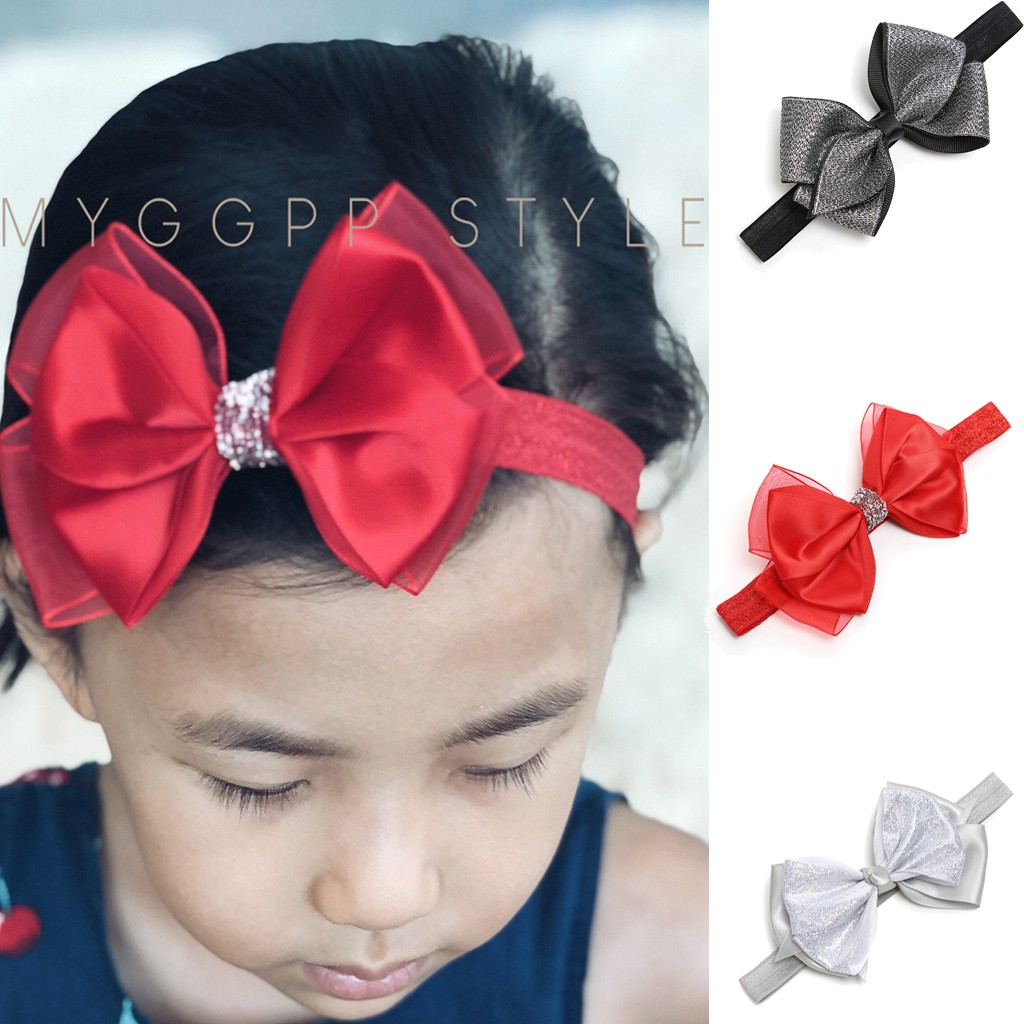 Fashion Beauty Cute Sweet Kids Girl Baby Headband Headband Toddler Baby Bows Knot Hair Band Bandeau Bebes Fille Diadema Nina