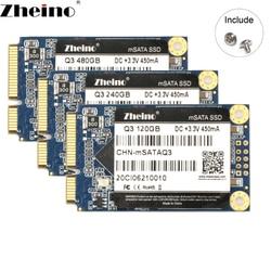 Zheino Mini mSATA SSD 120GB 240GB 480GB 128GB 256GB 512GB 6GB/S mSATA3 ssd Internal Solid State Drive For Laptop Desktop