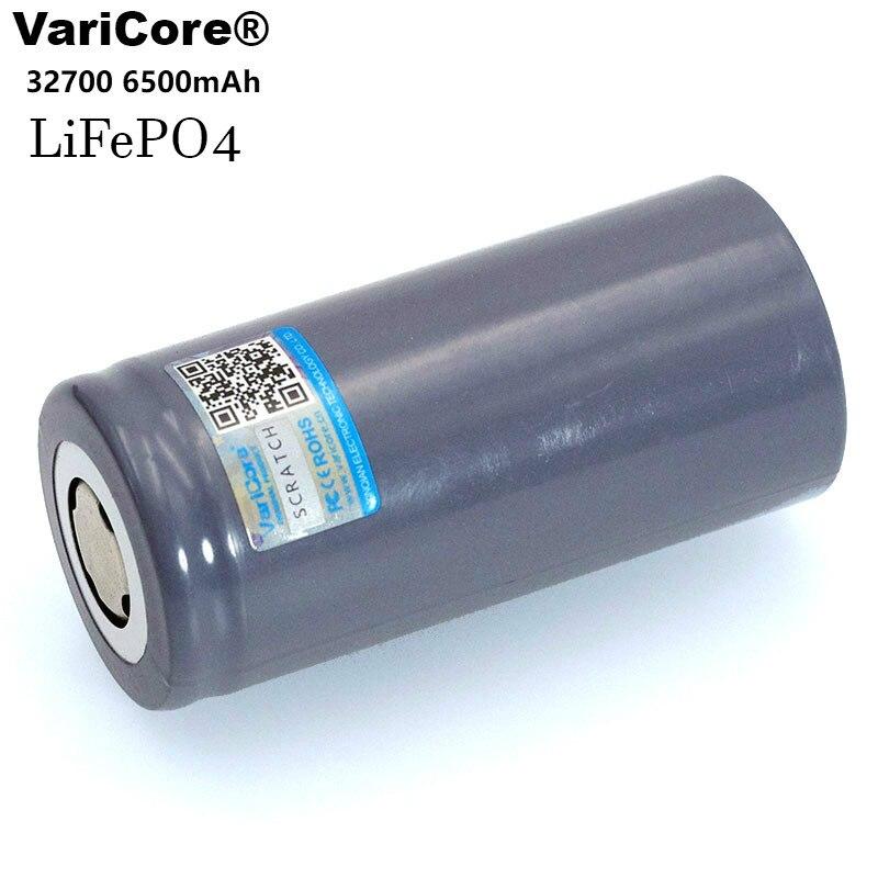 1-10 pièces VariCore 3.2 V 32700 6500 mAh LiFePO4 35A batterie décharge continue maximale 55A batterie haute puissance