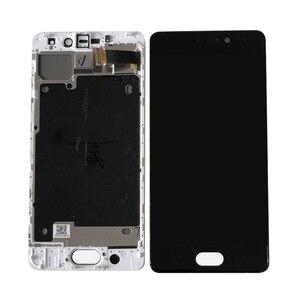 Image 4 - Original Axisinternational 5.2 pour Meizu Pro 7 Pro7 M792H M792Q AMOLED écran daffichage LCD + numériseur décran tactile avec cadre