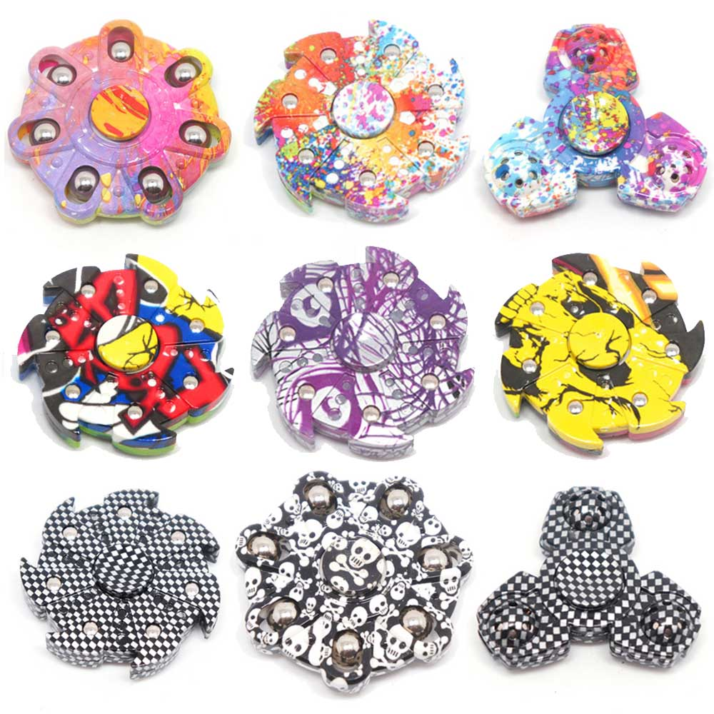 Cool Fidget Spinnners Rainbow and Top Finder Spinner Naamiointi - Antistress lelut - Valokuva 2