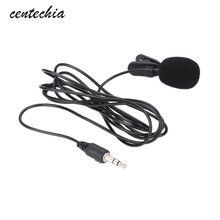Portable External Clip-on Lapel Lavalier Microphone 3.5mm Jack For PC