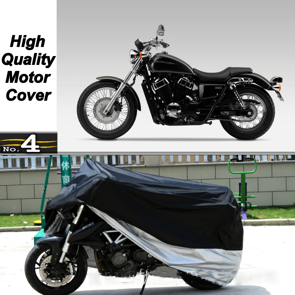 MotorCycle Cover For <font><b>Honda</b></font> Shadow <font><b>VT750S</b></font> WaterProof UV / Sun / Dust / Rain Protector Cover Made of Polyester Taffeta image