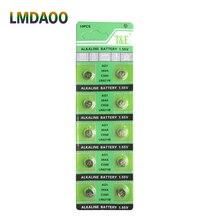 Дешевая распродажа оригинальная Кнопочная батарея AG1 364 SR621 SR60 SR60L Щелочная монетная батарейка для часов x10 1,55 V EE6202