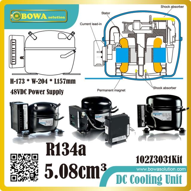 48VDC R134a kompressor Weniger komponenten, weniger kosten, weniger ...