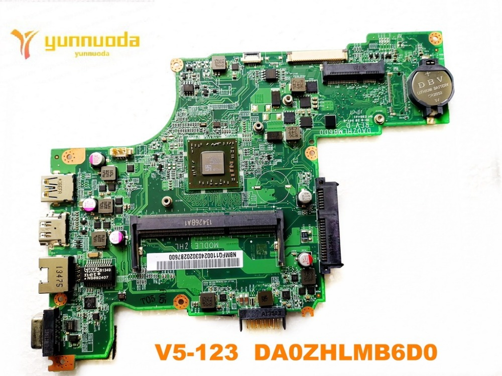 original for ACER V5-123 laptop motherboard V5-123  DA0ZHLMB6D0 tested good free shipping