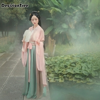 2019 new hanfu national costume ancient chinese cosplay costume ancient chinese hanfu women clothes lady chinese stage dress