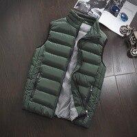 Vest Men New Stylish Autumn Winter Warm Sleeveless Jacket Army Waistcoat Men S Vest Fashion Casual