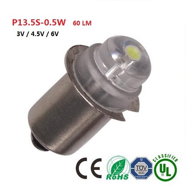 E10 P13 5s Lampe De Poche Ampoule 0 5 W D Urgence Lumiere Ampoules 3