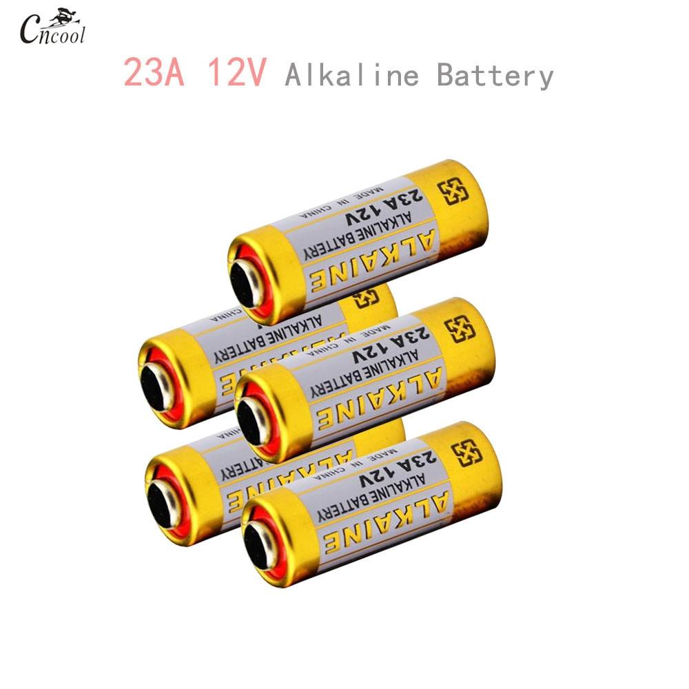 5pcs 23A12V Small Battery 23A 12V Battery 21/23 A23 E23A MN21 MS21 V23GA L1028 Alkaline Dry Battery