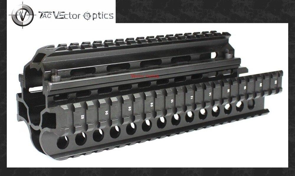 La Óptica del Vector Táctico SAIGA 7.62x39 Caza Montaje Del Arma de Handguard Pi