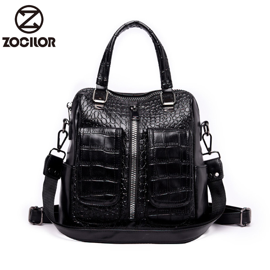 3184453251d US $22.81 47% OFF|2019 soft Women Backpacks Stone Women's pu .Leather  Backpacks school backpack women Shoulder bags for teenage girls Travel  Back-in ...