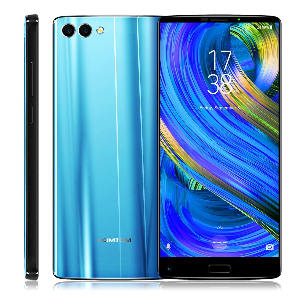 HOMTOM S9 Plus 4g Smartphone 5.99 pouce D'origine Android 7.0 MTK6750T Octa Core 1.5 ghz 4 gb RAM 64 gb ROM Soutien OTG D'empreintes Digitales