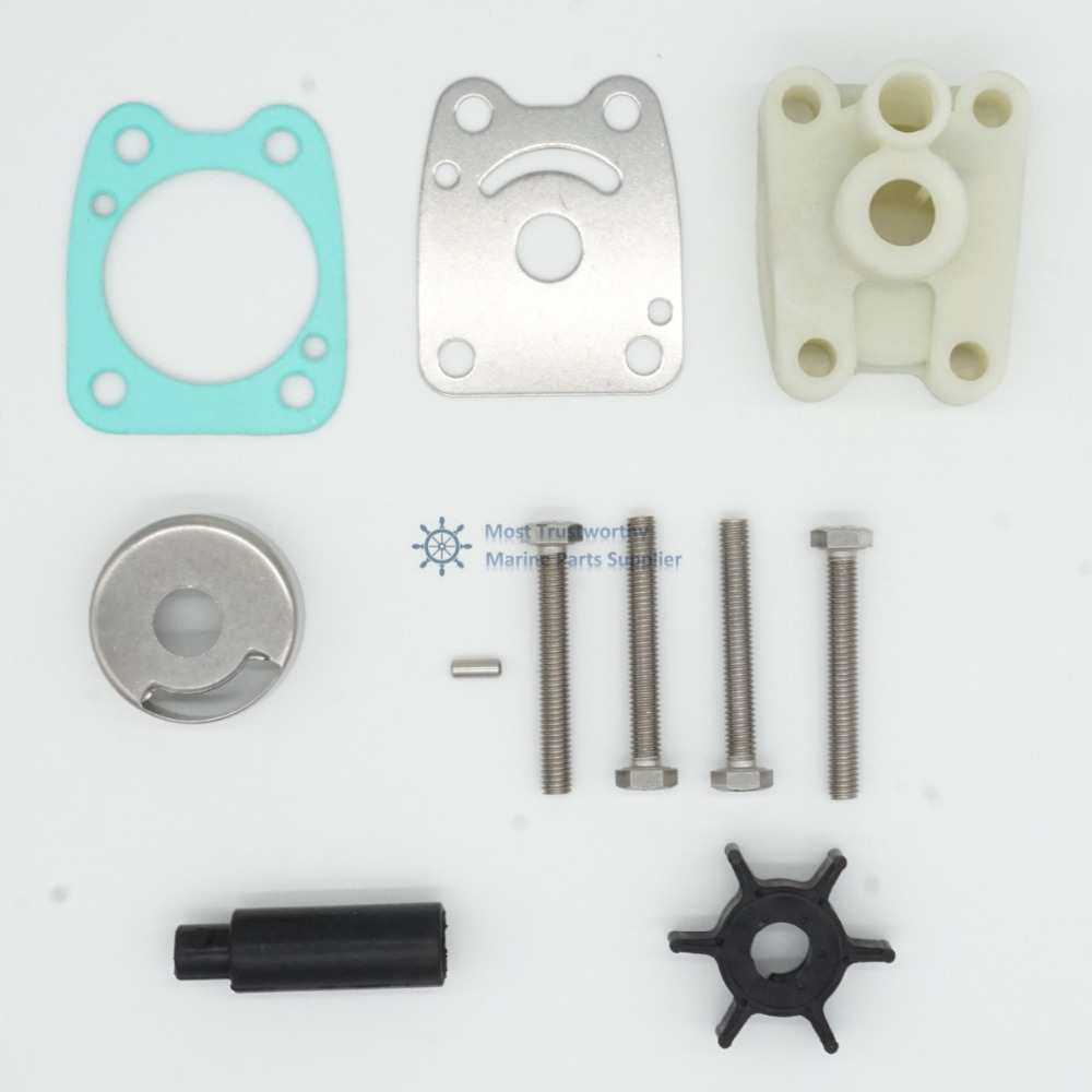 Water Pump Repair Kit 6E0 W0078 A2 00 for replacement Yamaha Marine 4/5 HP-in Boat Engine from Automobiles & Motorcycles