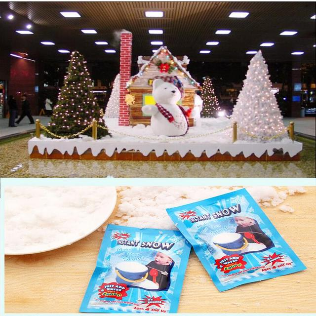 Artificial Snow Powder Christmas Gift Christmas Wedding Decor 1Pcs ...