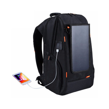 Solar Panel Breathable Casual Backpack 2