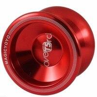 Frete grátis Venda Quente Bola Rolamento Magia yo yo YOYO T5 Versão Atualizada Da Liga de Alumínio do Metal Professional Yo-yo Auldey-Yo Brinquedo