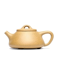 Authentic Yixing Raw ore household teapot Zisha teapot  Chinese Style Kung Fu tea set gift stone ladle pot Sesame section mud yixing yixing teapot tea manufacturers selling authentic tea all over the mud ore section of baxian mixed batch