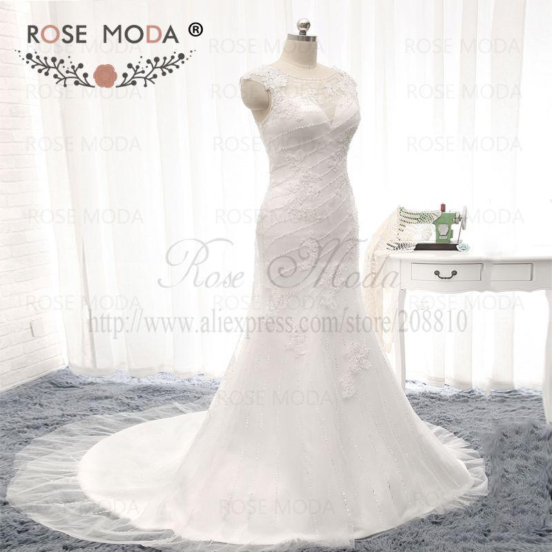 Top Qualität Stark Perlen Zwei Stücke Mantel Hochzeitskleid ...