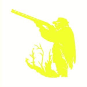 Image 5 - ハンター狩猟車のステッカー反射車両ギターサーフィンボードの装飾デカール