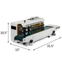 Bespacker FR 900W Automatic continuous plastic bag heat sealer sealing machine for aluminum foil plastic bag
