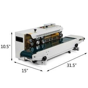 Image 1 - Bespacker FR 900W Автоматическая непрерывная машина для запечатывания полиэтиленовых пакетов
