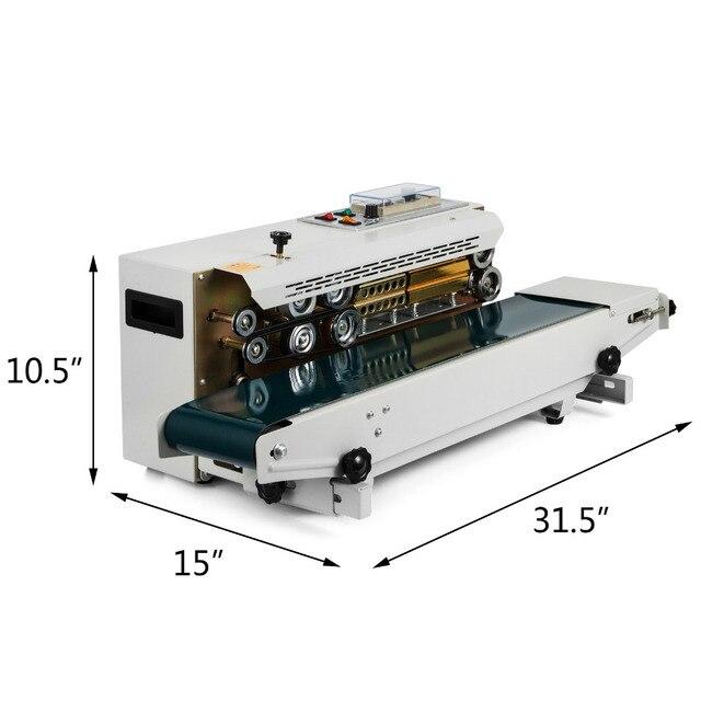 Bespacker FR 900W Автоматическая непрерывная машина для запечатывания полиэтиленовых пакетов