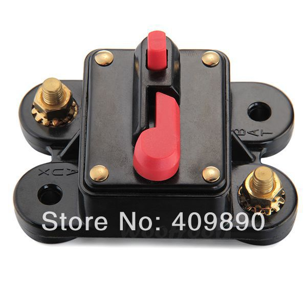 Resetable Car Boat Audio Dual Battery Amp Fuse Circuit Breaker