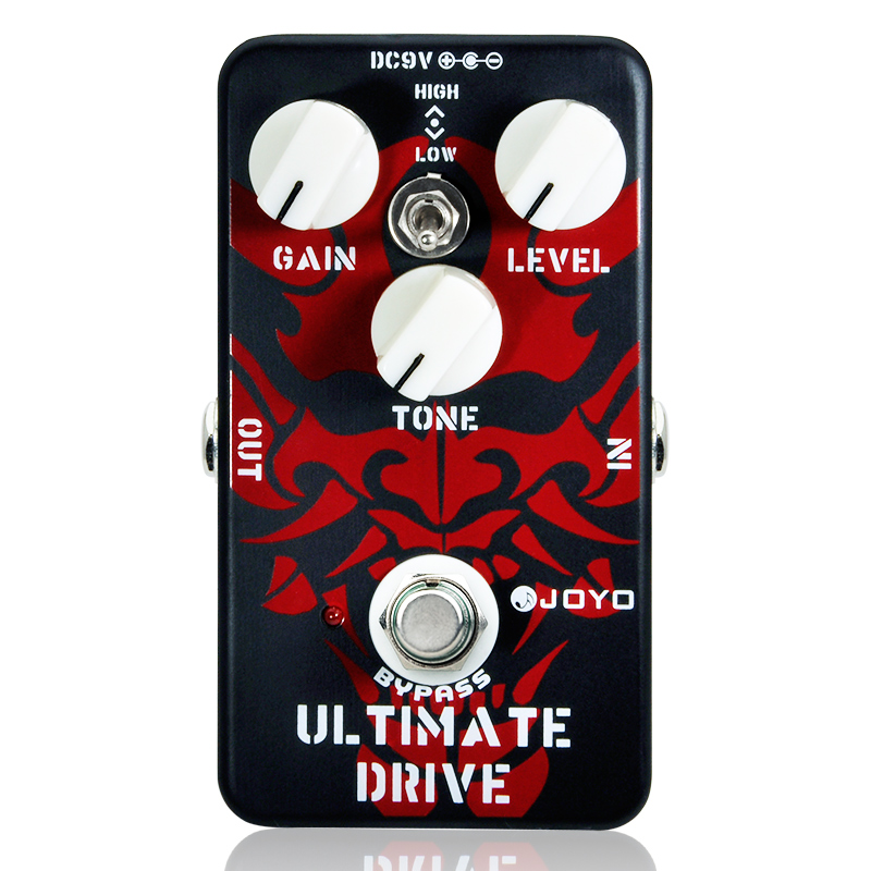 JOYO JF 02 Guitar Effect Pedal Surpassing Diode Tube Amp Ultimate Drive Overdrive Features Bordering on