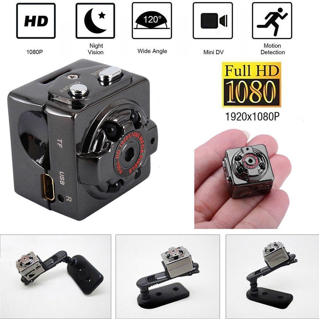 Mini Camera SQ8 Micro DV Camcorder Action Night Vision Digital Sport DV Wireless Mini Voice Video TV Out Camera HD 1080P