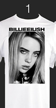BILLIE EILISH Singer T-shirt X2 Options, S M L XL 2XL 3XL Spiders Men 2018 Brand Clothing Tees Casual Top Tee T Shirt