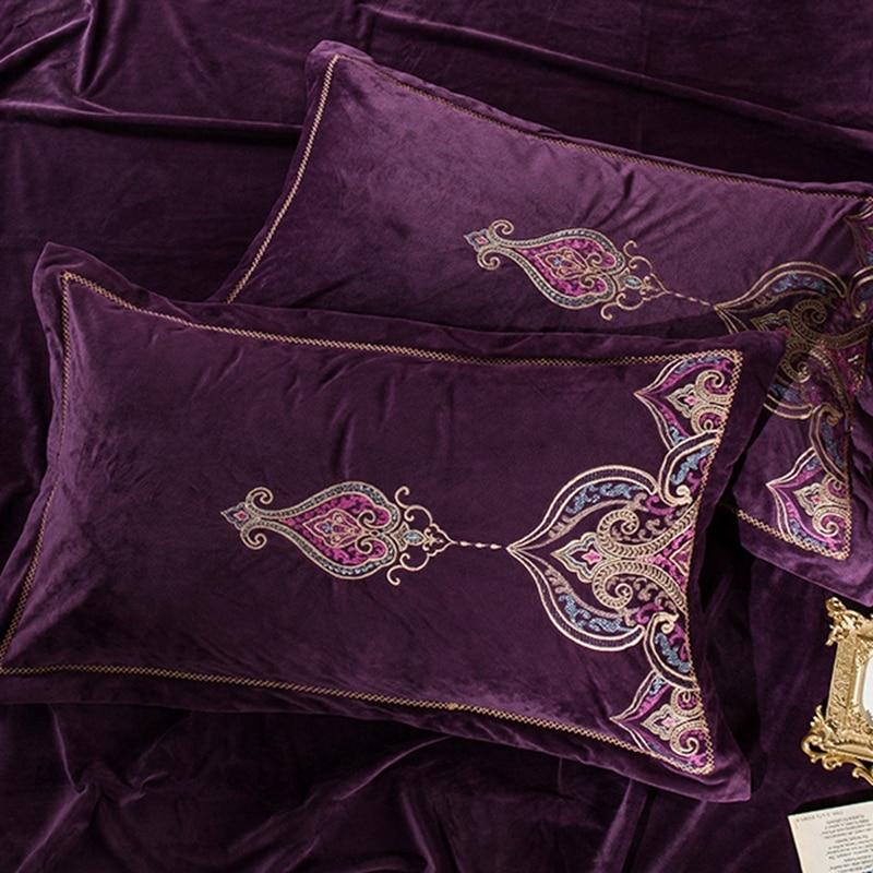 Novo tecido de lã conjuntos cama real