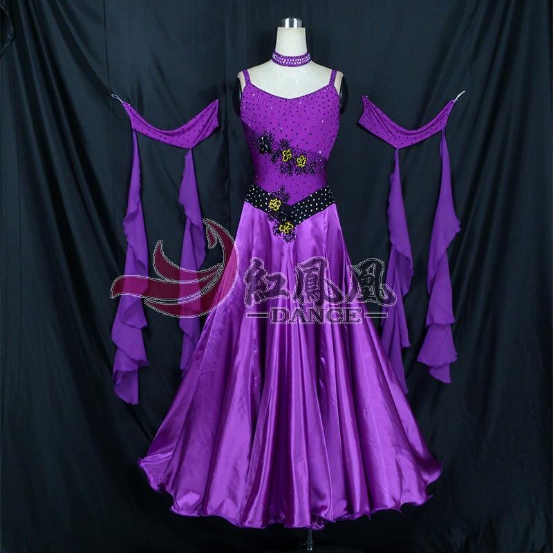 High-end Nemzetközi Standard Ballroom Smooth Dance verseny ruha, / - Újdonság