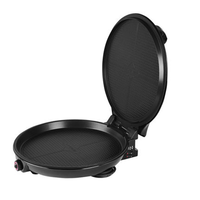 220V Double Heating Electric Crepe Maker Frying Pan 36CM Plate Non-stick Pizza Maker Pan Multifunctional Baking Pan EU/AU/UK/US edtid multifunctional electric cooker mini heat pan students hot pot without oil fume nonstick frying pan special offer