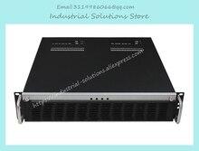 NEW Double mini motherboard depth 360 mm 2u server computer case industrial computer case rack mount computer case