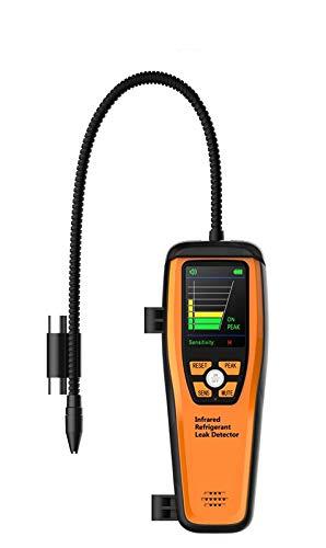Elitech ILD-200 Avanzata Refrigerante A Raggi Infrarossi Rilevatore di Perdite Tester con Sonda Flessibile Ad Alta Sensibilità senza Adattatore