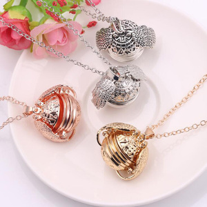 Image 3 - 10pcs/lot Fashion Jewelry Pendant Necklace Angel Wing Memory Floating Locket 4 Photos For Unisex Accessories