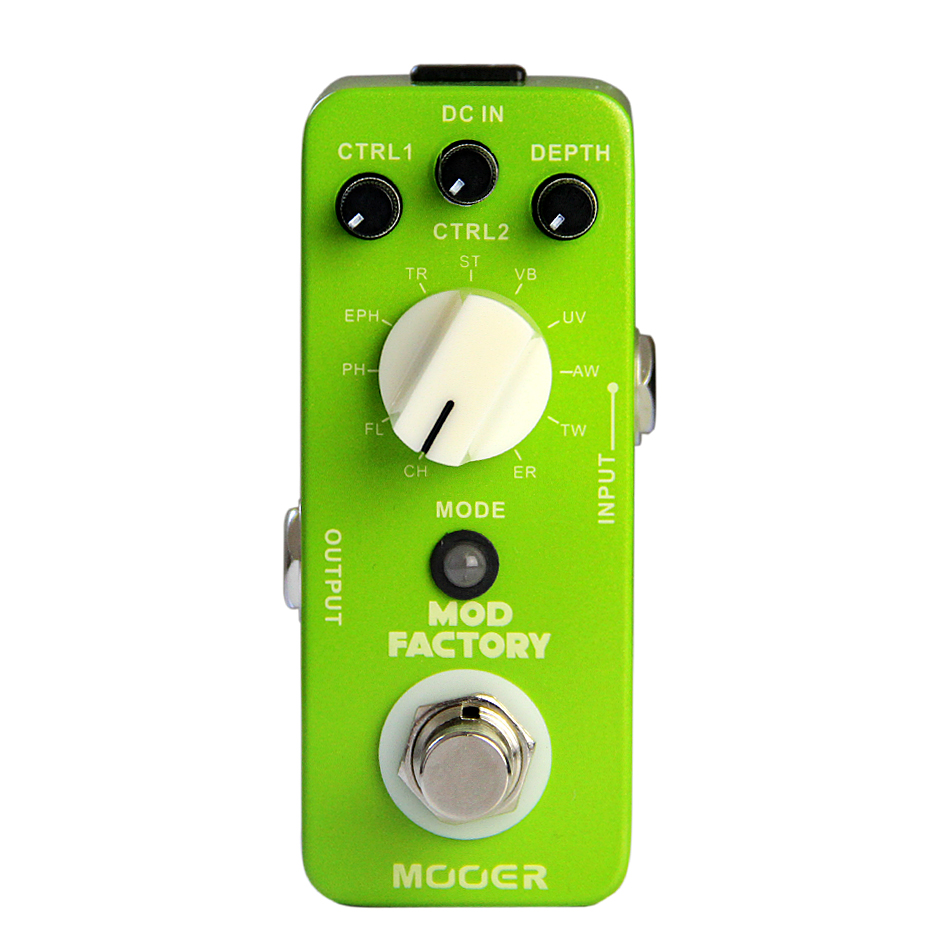 MOOER The Mod Factory, Modulation guitar effect Pedal Collected 11 kinds of classic modulation effect effect of fruits of opuntia ficus indica on hemolytic anemia